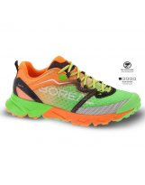 Zapatillas Trail Boreal SAURUS Green Orange