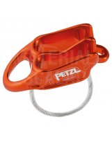 Asegurador - Descensor Petzl Reverso 2019 Red Orange