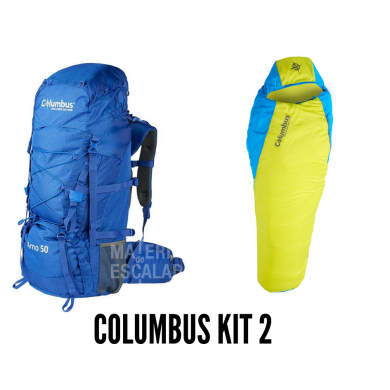 Conjunto Campamento COLUMBUS KIT 2