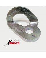Chapa escalada Fixe 1 acero zincado 12 mm