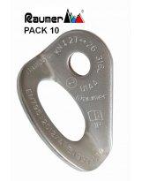 Chapa INOX Raumer ROCK 10 mm AISI 316 L - PACK 10