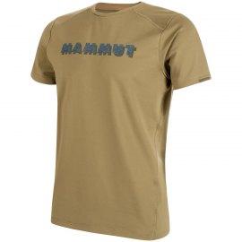 Camiseta Mammut Splide Logo Olive