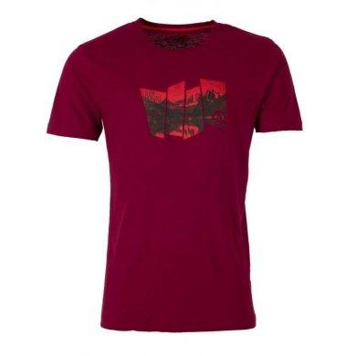 TERNUA Camiseta TAUSUG Burgundy