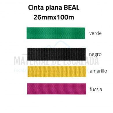 Cinta plana BEAL Unie 26mm 100m