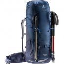 Mochila de trekking Deuter AIRCONTACT 65+10 Midnight-Navy