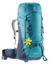 Mochila de trekking Mujer Deuter AIRCONTACT 40+10 SL Petrol-navy
