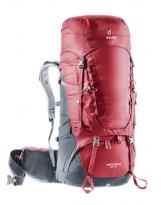 Deuter AirContact 45+10 Mochila de Trekking Cranberry-Graphite