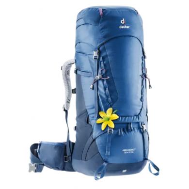 Mochila de trekking Mujer Deuter AIRCONTACT 50+10 SL Steel-Midnight