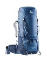 Mochila de trekking Deuter AIRCONTACT 55+10 Midnight-Navy