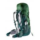 Mochila de trekking Mujer Deuter AIRCONTACT 60+10 SL Leaf-Forest