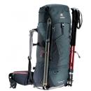 Mochila Trekking Mujer Deuter AIRCONTACT LITE 35+10 SL Graphite-Black