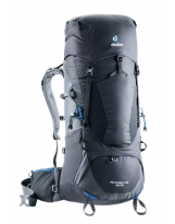 Mochila Trekking Deuter AIRCONTACT LITE 40+10 Black-Graphite