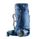 Mochila Trekking Deuter FUTURA VARIO 50+10 Midnight-Steel