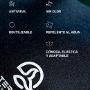 Mascarilla Ternua AIRGILL | TERNUA mascarilla higienica reutilizable