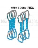 Pack de 6 cintas expres Petzl DJINN AXESS