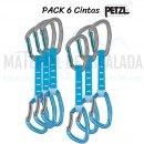 Pack de 6 cintas expres PETZL DJINN