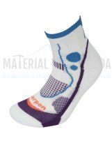 Calcetines trail running mujer LORPEN X3LW17 Ws T.R Light Blanco