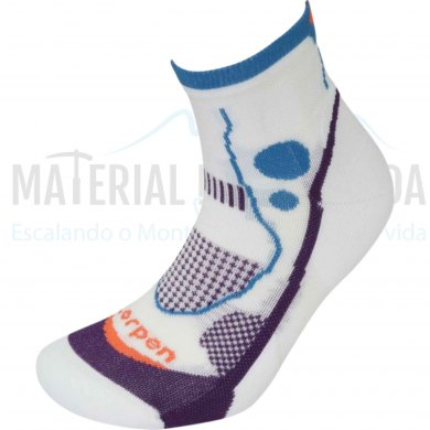 Calcetines trail runnung mujer LORPEN X3LW17 Ws T.R Light Coral