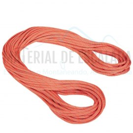 Cuerda simple 9.8  80m | MAMMUT CRAG Classic Standard naranja