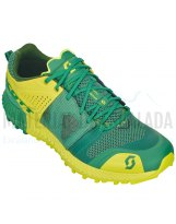 Zapatillas trail | SCOTT Zapatillas Kinabalu Pwr Green/yellow