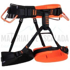 Arnes escalada |MAMMUT Arnes 4 Slide Vibrant orange/Black