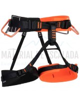 Arnes escalada |MAMMUT Arnes 4 Slide Vibrant orange/Black