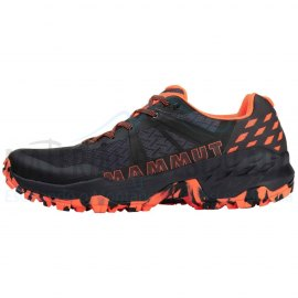 Zapatillas Multiactividad   MAMMUT  Sertig II Low Black/Vibrant orange