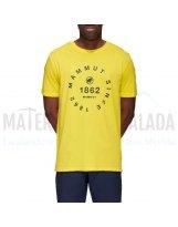 Camiseta manga corta | MAMMUT Seile algodon organico Blazing Prt2