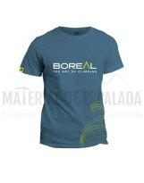 Camiseta manga corta | BOREAL Organic Cotton T-Shirt Blue
