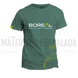 Camiseta manga corta   BOREAL Organic Cotton T-Shirt Green
