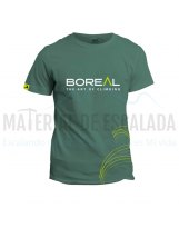 Camiseta manga corta | BOREAL Organic Cotton T-Shirt Green