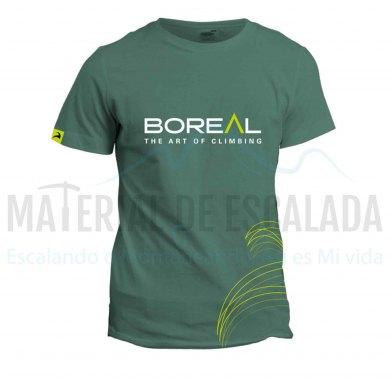 Camiseta manga corta   BOREAL Organic Cotton T-Shirt Blue