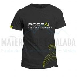 Camiseta manga corta | BOREAL Organic Cotton T-Shirt Black