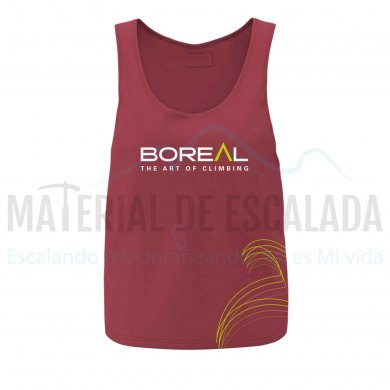 Camiseta tirantes mujer | BOREAL Organic Cotton Top Wmns Red