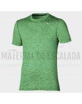 Camiseta manga corta | MIZUNO Impulse Core TEE verde