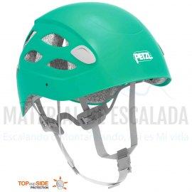 Casco escalada mujer con proteccion reforzada   PETZL BOREA® turquesa