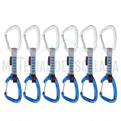 Pack de 6 cintas express 10cm | MAMMUT Crag Wire 10cm Indicator