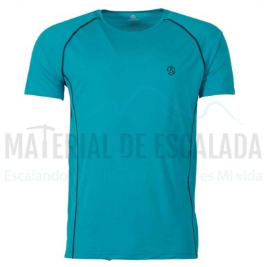 Camiseta Tecnica Hombre Ternua UNDRE Whales Grey MC