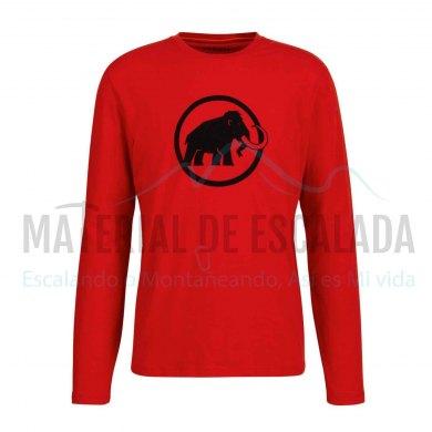 Camiseta Manga Larga   MAMMUT Classic Magma