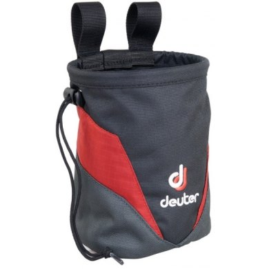 Deuter Chalk Bag II Lava-Anthracite - CHALK-BAG-II ROJO
