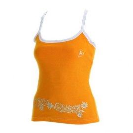 Boreal pedriza Naranja - Camiseta tirantes mujer