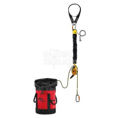 Kit de rescate reversible con polipasto Petzl JAG RESCUE KIT 30 m - K90060-JAG-RESCUE-KIT 4