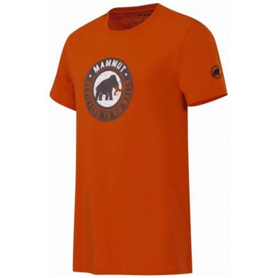 MAMMUT Vintage T-Shirt orange - Camiseta Algodon Manga Corta - 1041-05430-2088.UNICA.1