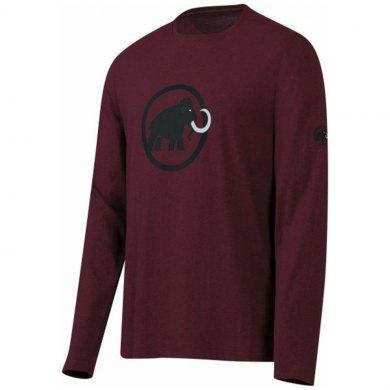 Mammut Logo Longsleeve Granate - Camiseta Agodon Manga Larga - 1041-07080-6195.UNICA.1