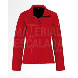 Chaqueta NORTHLAND ACTIVE SHELL MUJER ROJA