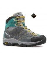 DOLOMITE FAIRFIELD GTX W Charcoal/Green - Botas Trekking Mujer