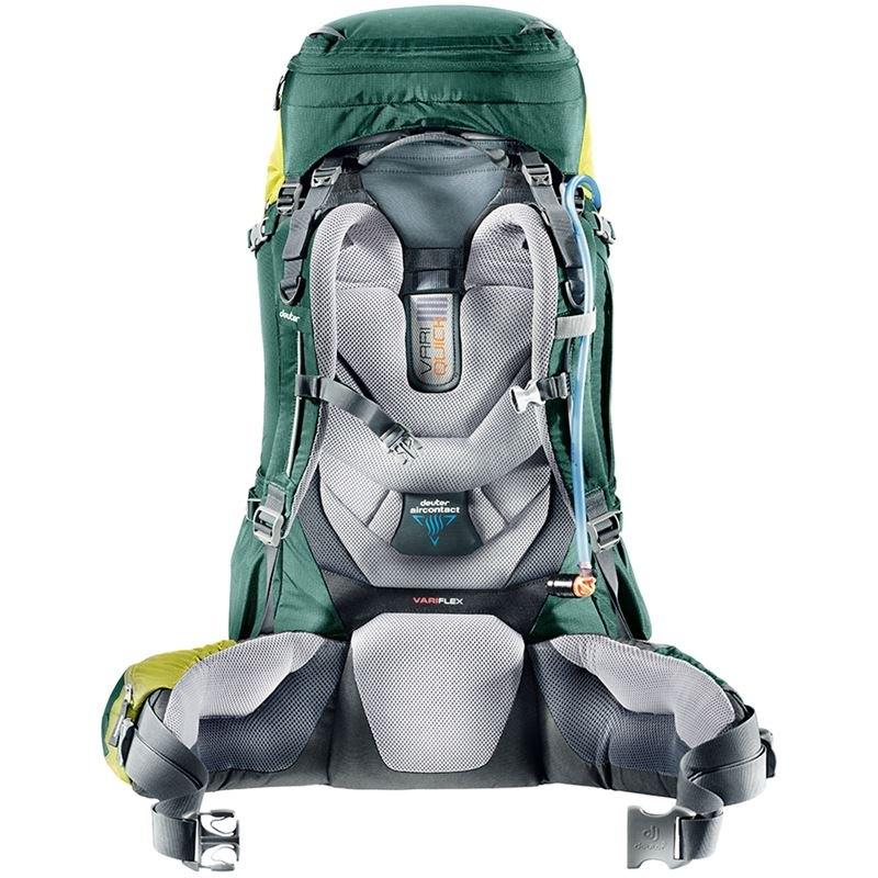 deuter aircontact 45 10 moos navy mochila de trekking material de escalada tienda. Black Bedroom Furniture Sets. Home Design Ideas