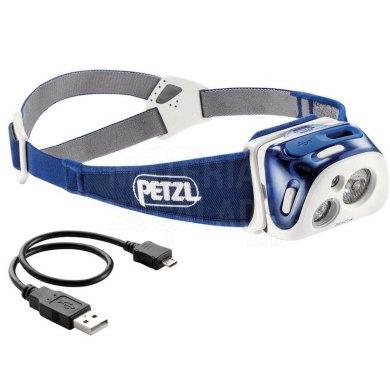 Linterna frontal Recargable Petzl REACTIK Azul 220 lm - E92HMI-REACTIK (1)