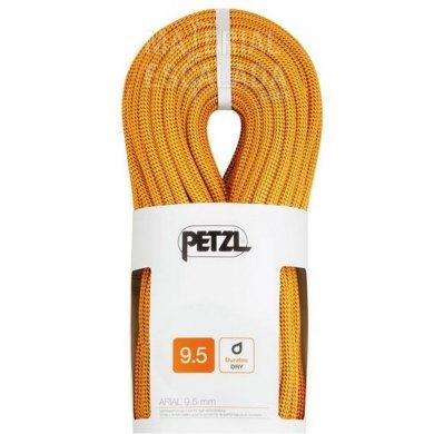 Cuerda Escalada PETZL ARIAL 9.5 mm 70 metros GOLD - PETZL ARIAL 9.5 MM GOLD (1)