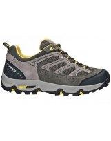 Tecnica Brezza 4 MS gris-lime - Zapatillas Trekking hombre